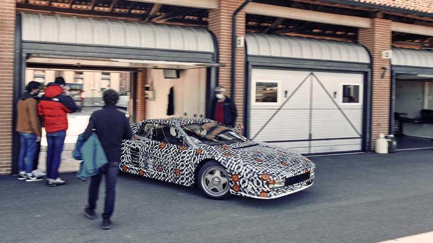 La Ferrari Testarossa è pronta a tornare in uno speciale restomod