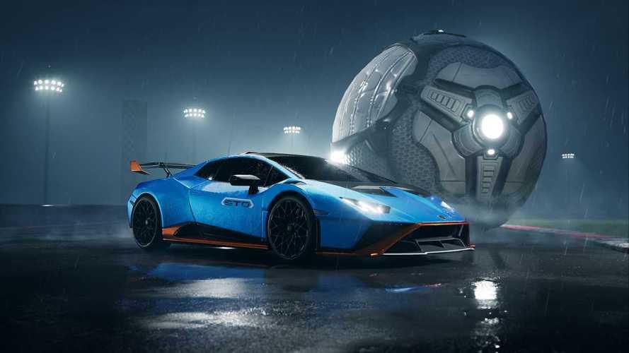 Lamborghini Huracan STO sbarca nel videogame Rocket League