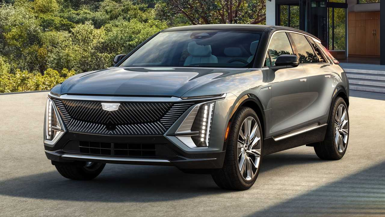 2023 Cadillac Lyriq Production Model Exterior