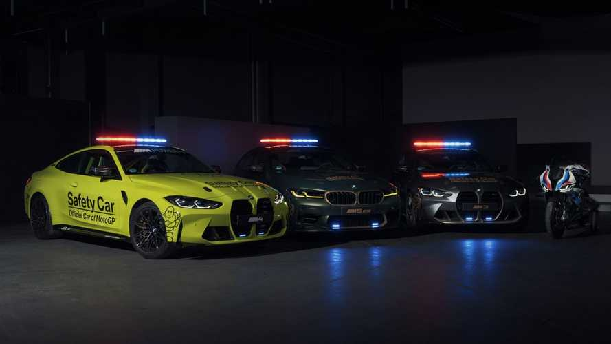 BMW M3, M4 e M5 CS, ecco le Safety Car del campionato MotoGP 2021