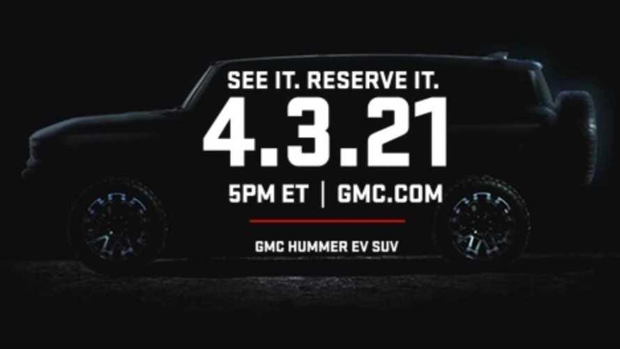 GMC Hummer SUV Teased, Debuts April 3