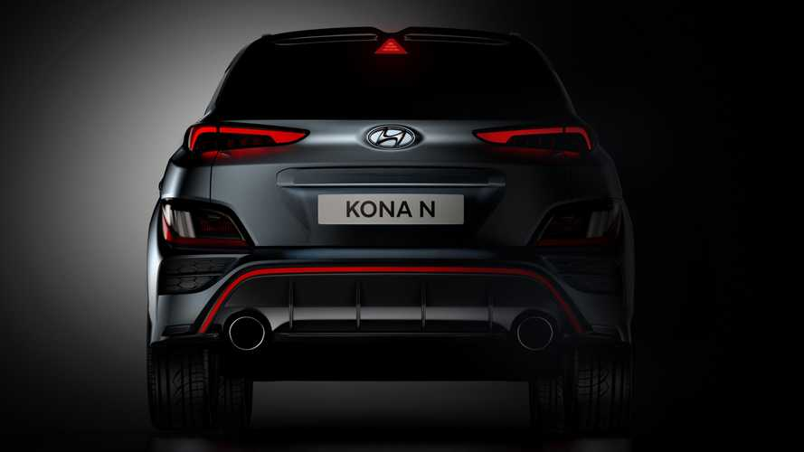 Hyundai KONA N 2021, teaser oficial