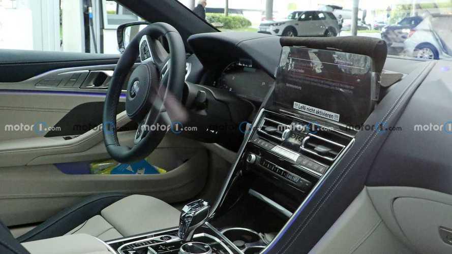 BMW Serie 8 Cabrio, le foto spia del restyling