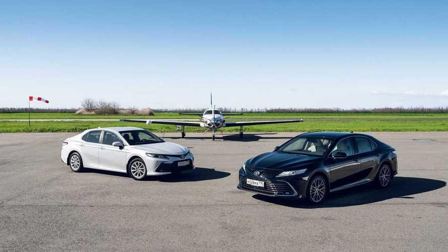 Обновленная Toyota Camry – первый российский тест-драйв
