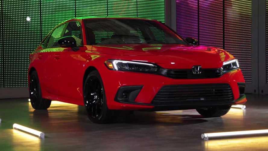 Novo Honda Civic 2022 é revelado e mantém motores 2.0 e 1.5 turbo