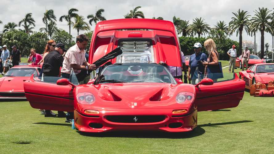 Ferraris young and old take centre stage at 30th Cavallino Classic