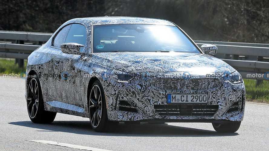 BMW 2 Series Coupe Spy Shots