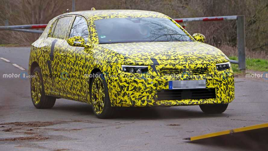 2022 Vauxhall Astra spied for the first time with production design