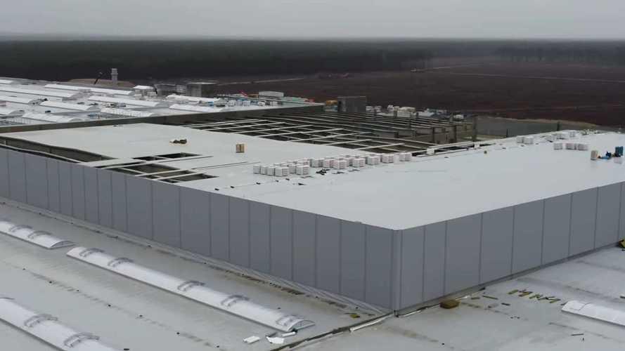 Gigafactory Berlino in costruzione