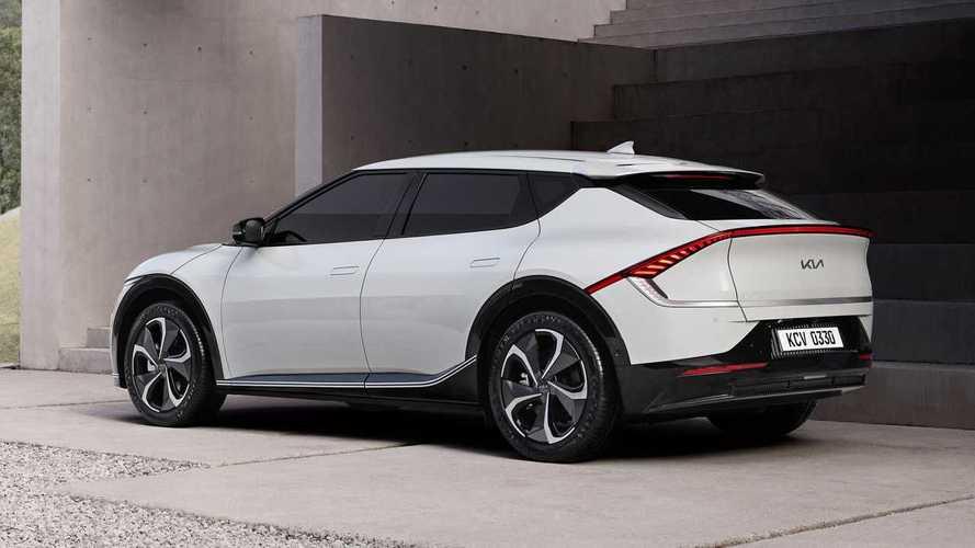 Kia EV6: ecco il design del crossover elettrico da 500 km di autonomia