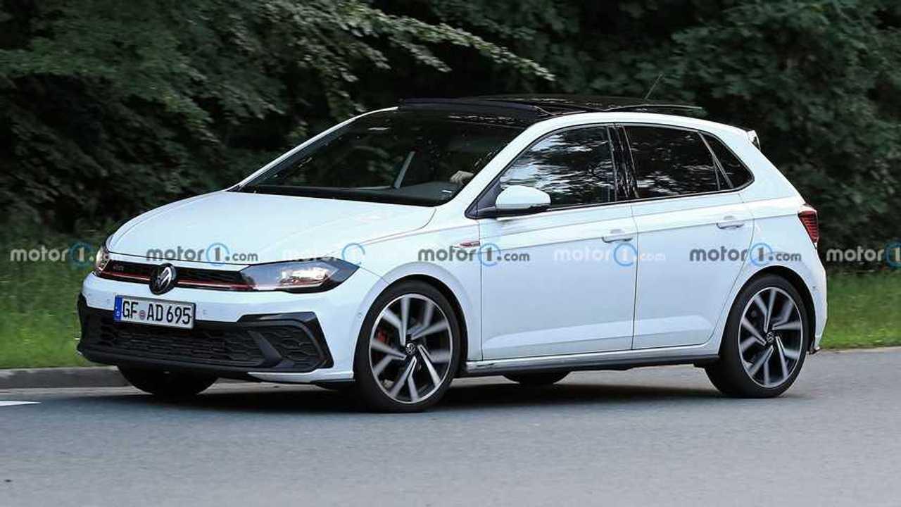 Fotos espía del Volkswagen Polo GTI 2021