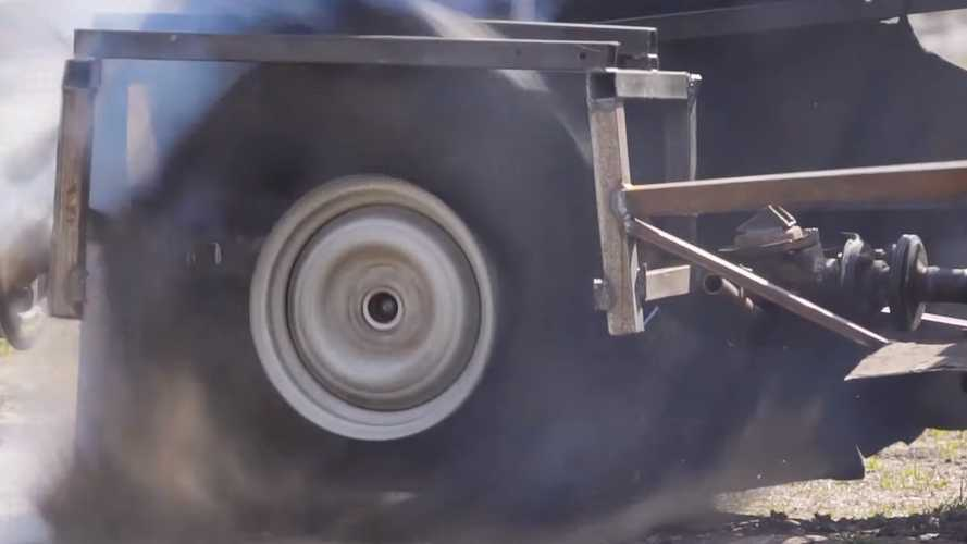 Crazy Tire Spinning Experiment Gets Sequel That Aims For The Sound Barrier