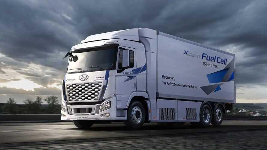 Hyundai Xcient Fuel Cell: Wasserstoff-LKW auch für USA und China