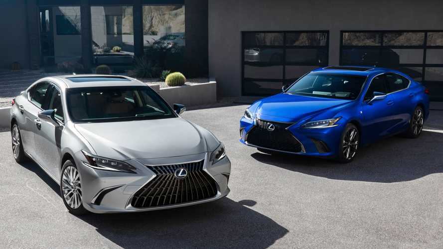 2022 Lexus ES arrives with tweaked tech, new 300h F Sport trim