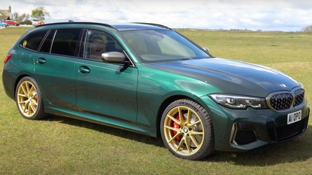 This Stunning Green M340i Touring Is BMW Individual At Its Finest