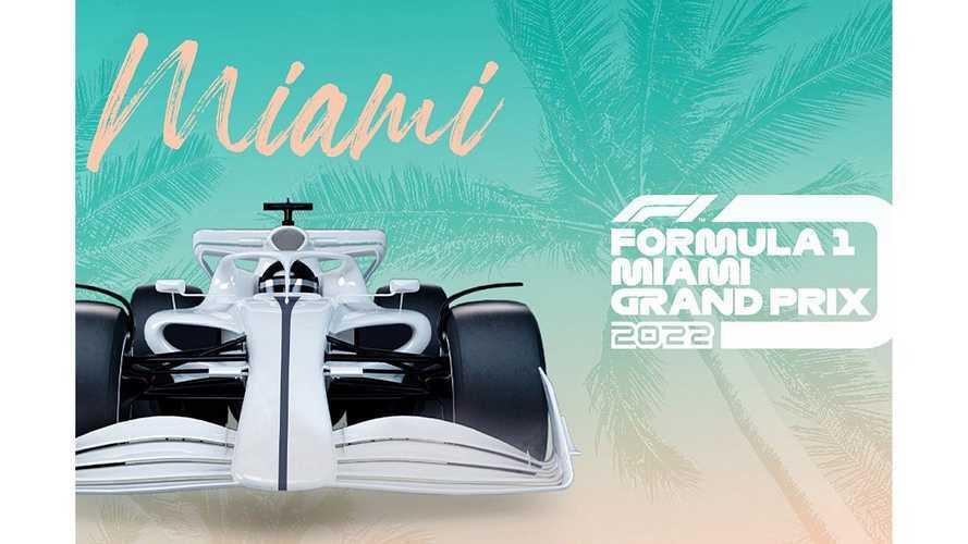 Le GP de Miami officiellement au calendrier en 2022 !