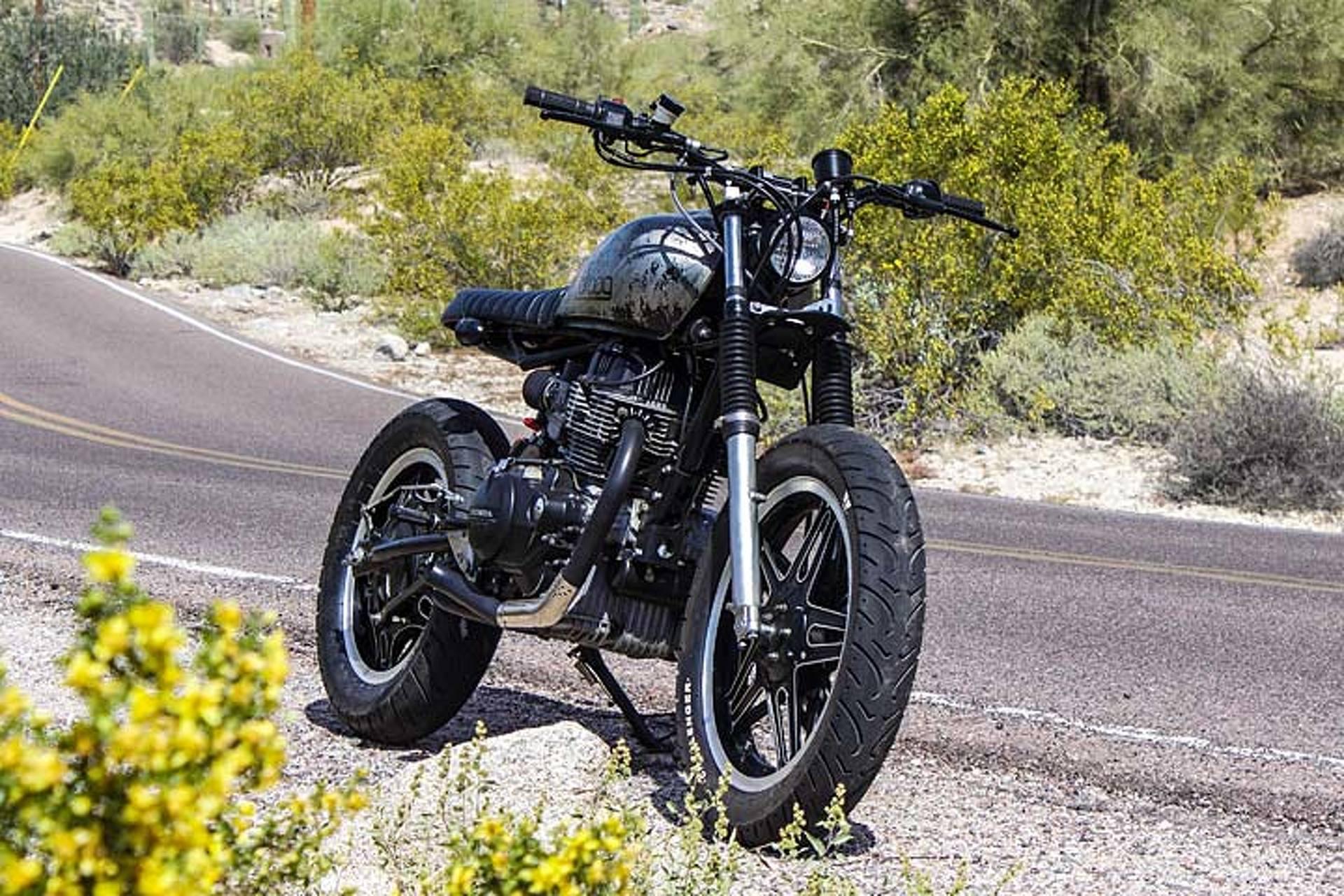 Droog Motos Honda Strambler Is Part Scrambler Part Street Tracker
