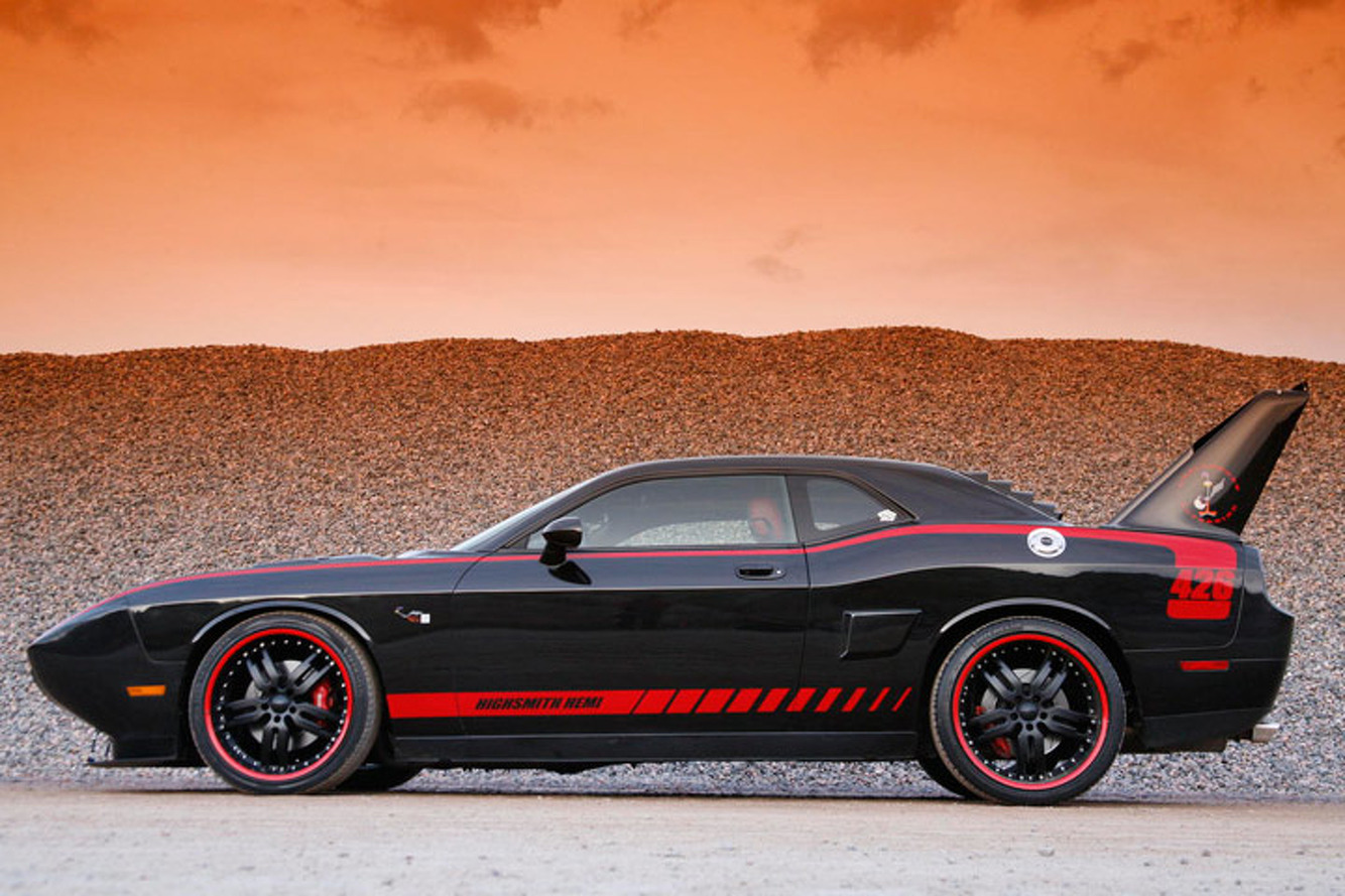"Build Your Own Dodge >> 2008 Dodge Challenger ""Superbird"" Custom Makes a Bold ..."