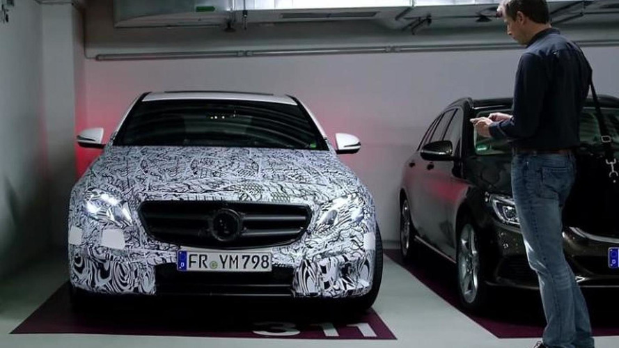 2017 Mercedes E-Class remote parking pilot system demonstrated [video]