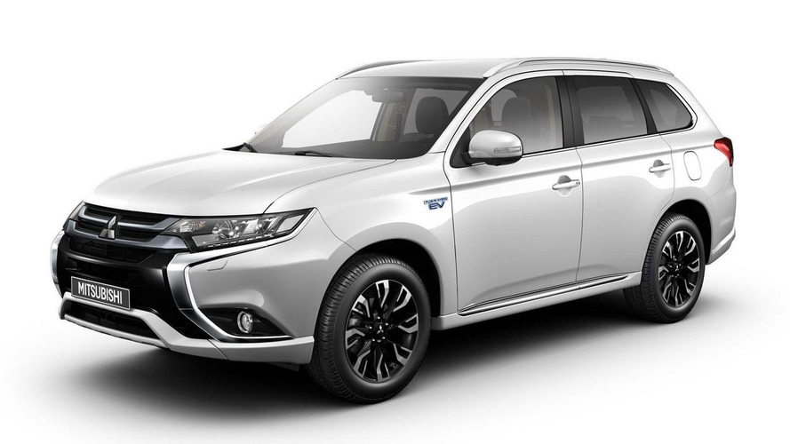 2016 Mitsubishi Outlander PHEV puts on Euro suit ahead of Frankfurt exhibit