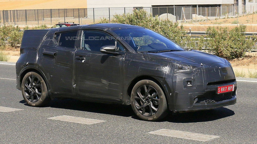 Toyota C-HR spy photo