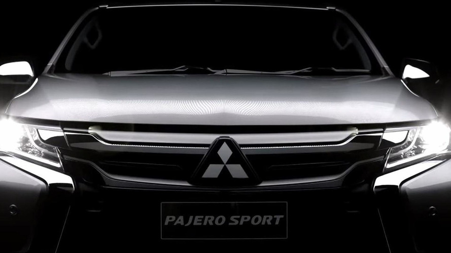 Mitsubishi releases new teaser for 2016 Pajero Sport [video]