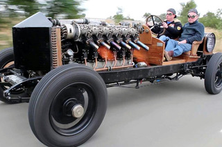 A History of Cars With Aircraft Engines
