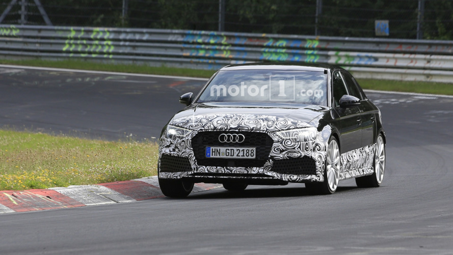 Audi RS3 Saloon hits the Nürburgring, could pack 400 hp