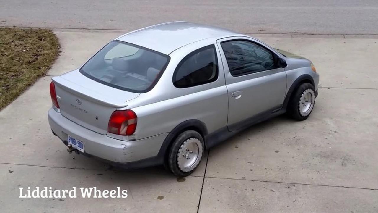 Watch bolt-on wheels make parallel parking a cinch
