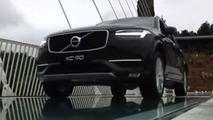 Chinese officials drove Volvo XC90 over glass bridge to prove its safety