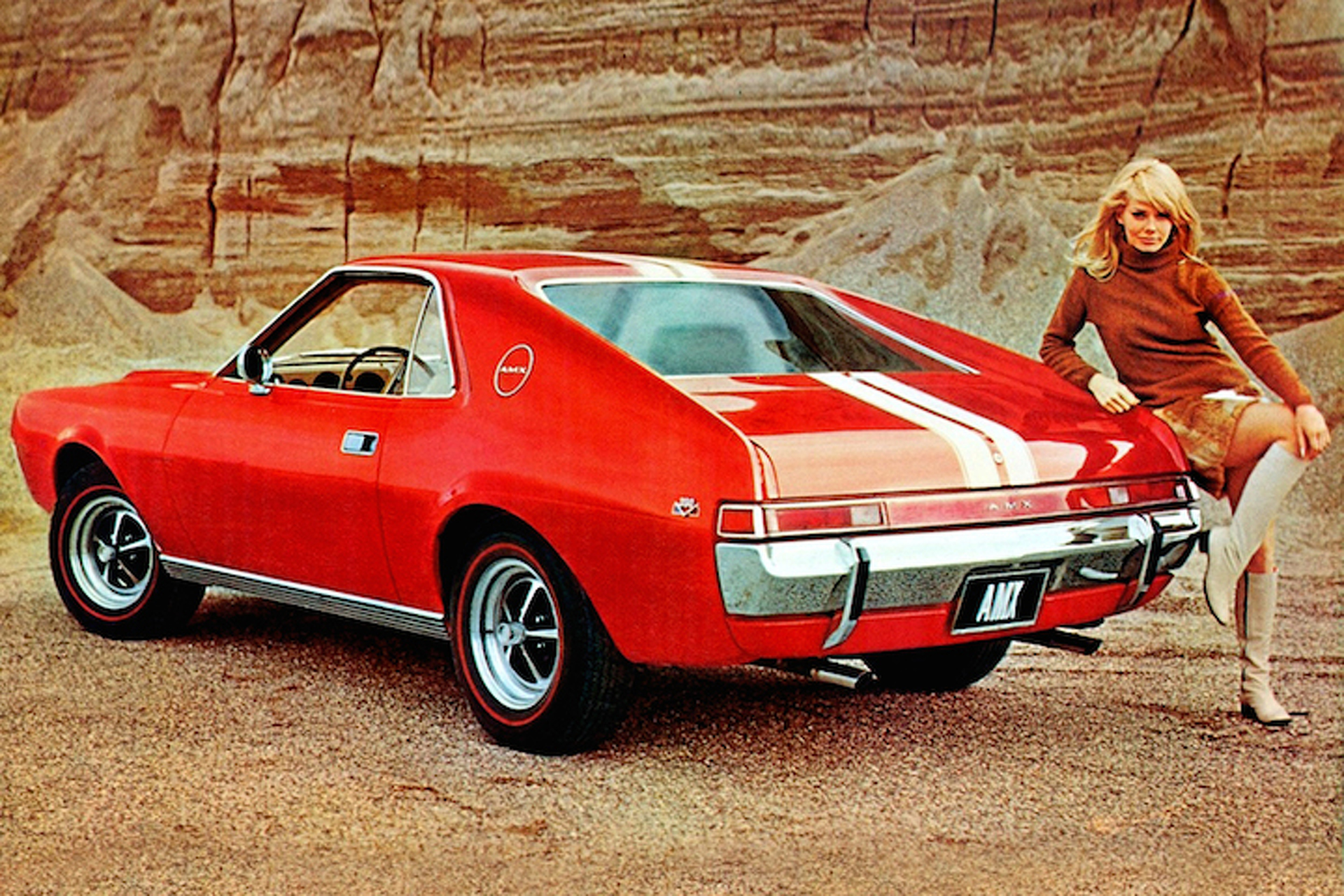 Amc Sports Cars Of Th 60'S