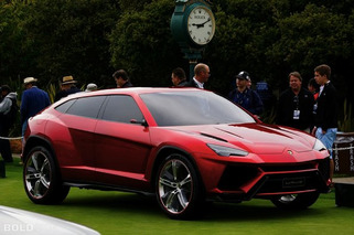 Lamborghini Urus SUV Expected by 2017, Could See Life as a Hybrid
