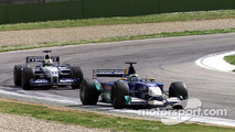 Felipe Massa and Ralf Schumacher