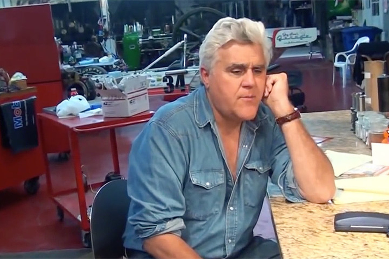 Take a Look and a Listen Inside Jay Leno's Car Collection