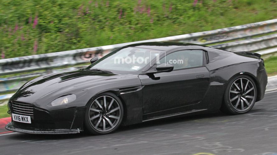 2018 Aston Martin Vantage spied for the first time