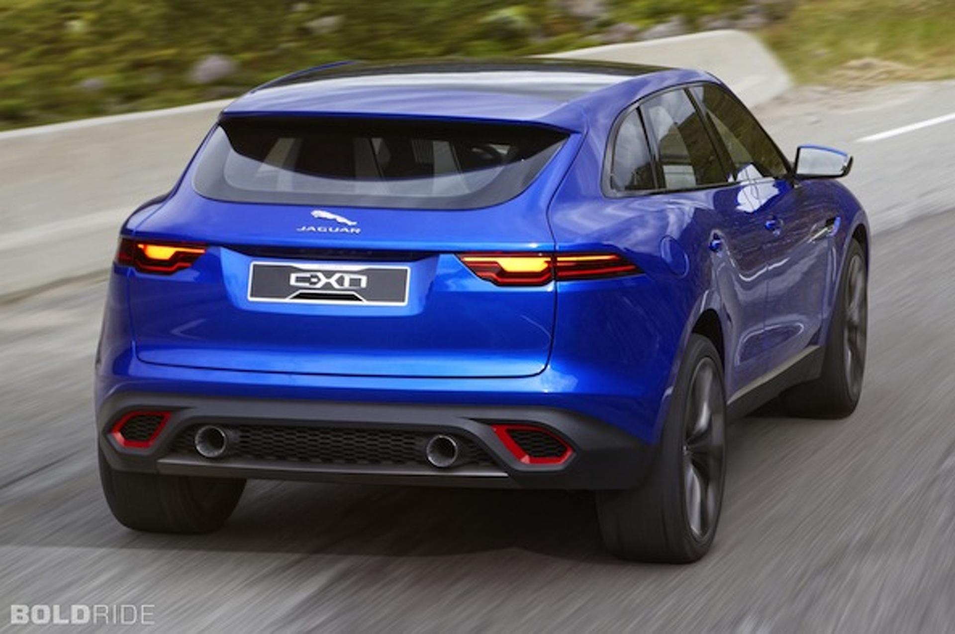 Jaguar Reveals C X17 The Brand S First Suv