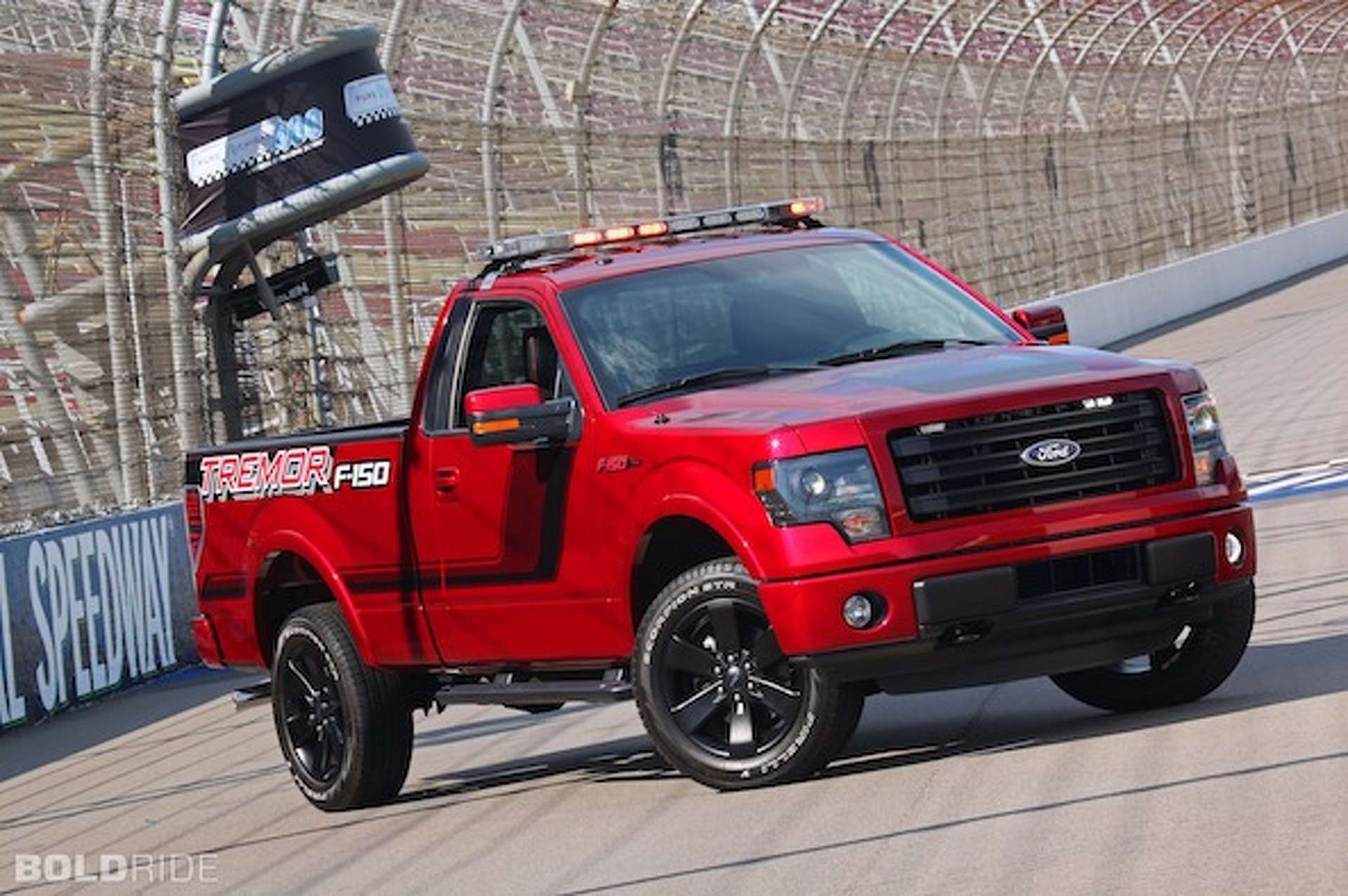F 150 Tremor >> Ford F 150 Tremor Gears Up For Nascar Duty