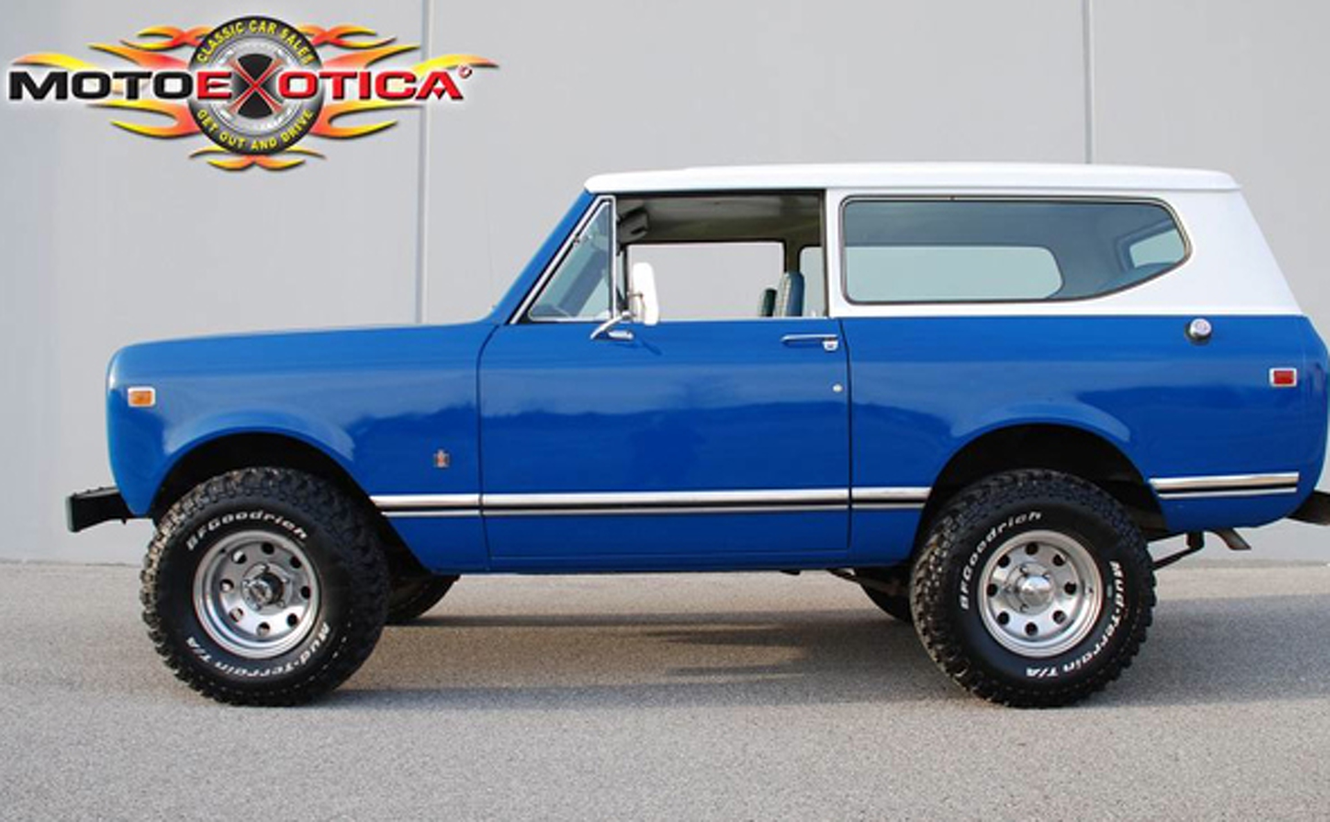 Concord Blue 1972 International Scout Ii For Sale | MCG