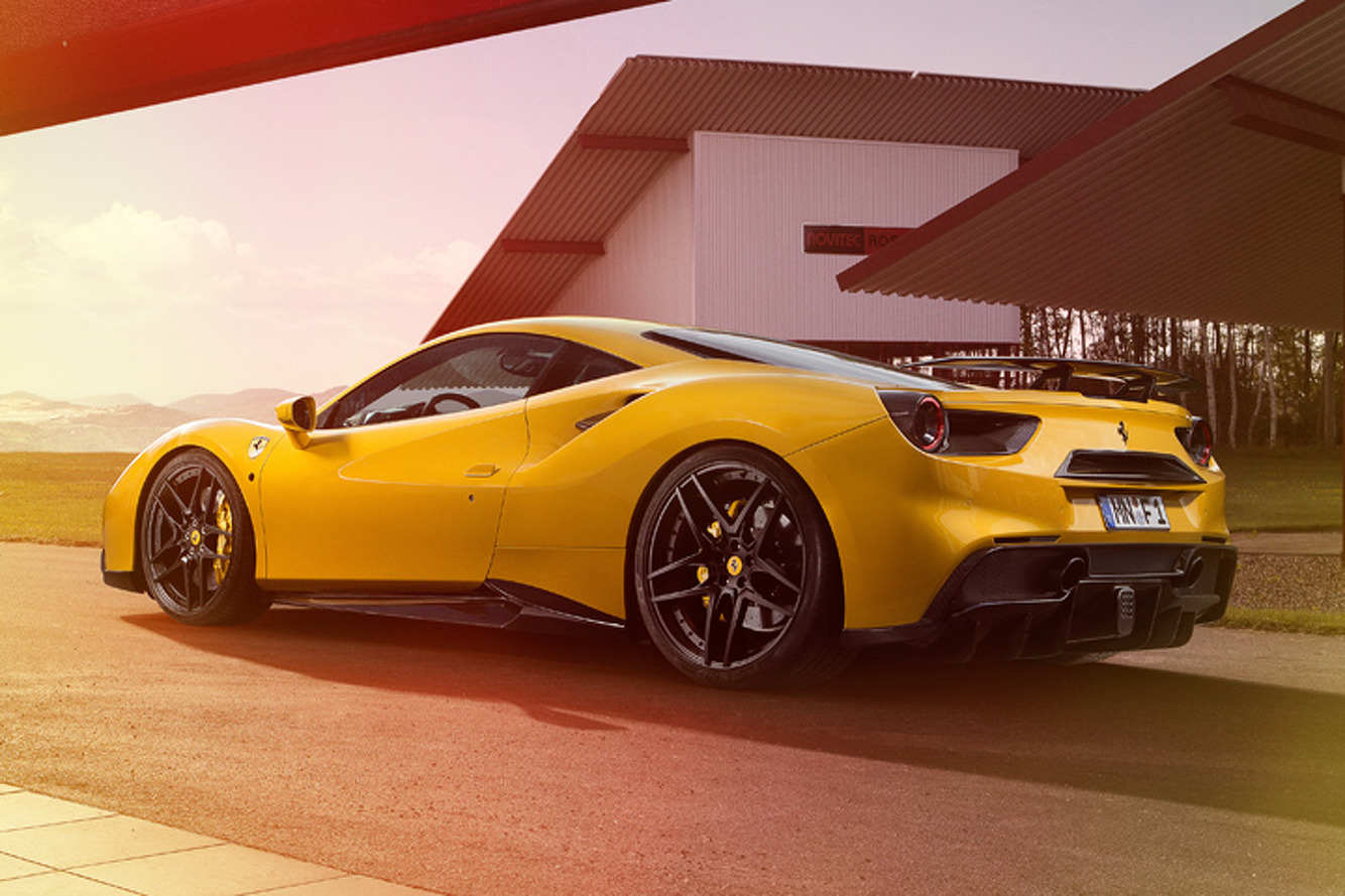 Meet the Ferrari 488's Sinister, 772-HP Sibling