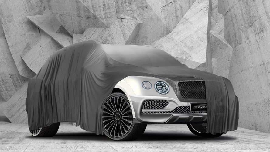 Mansory teases meaner Bentley Bentayga