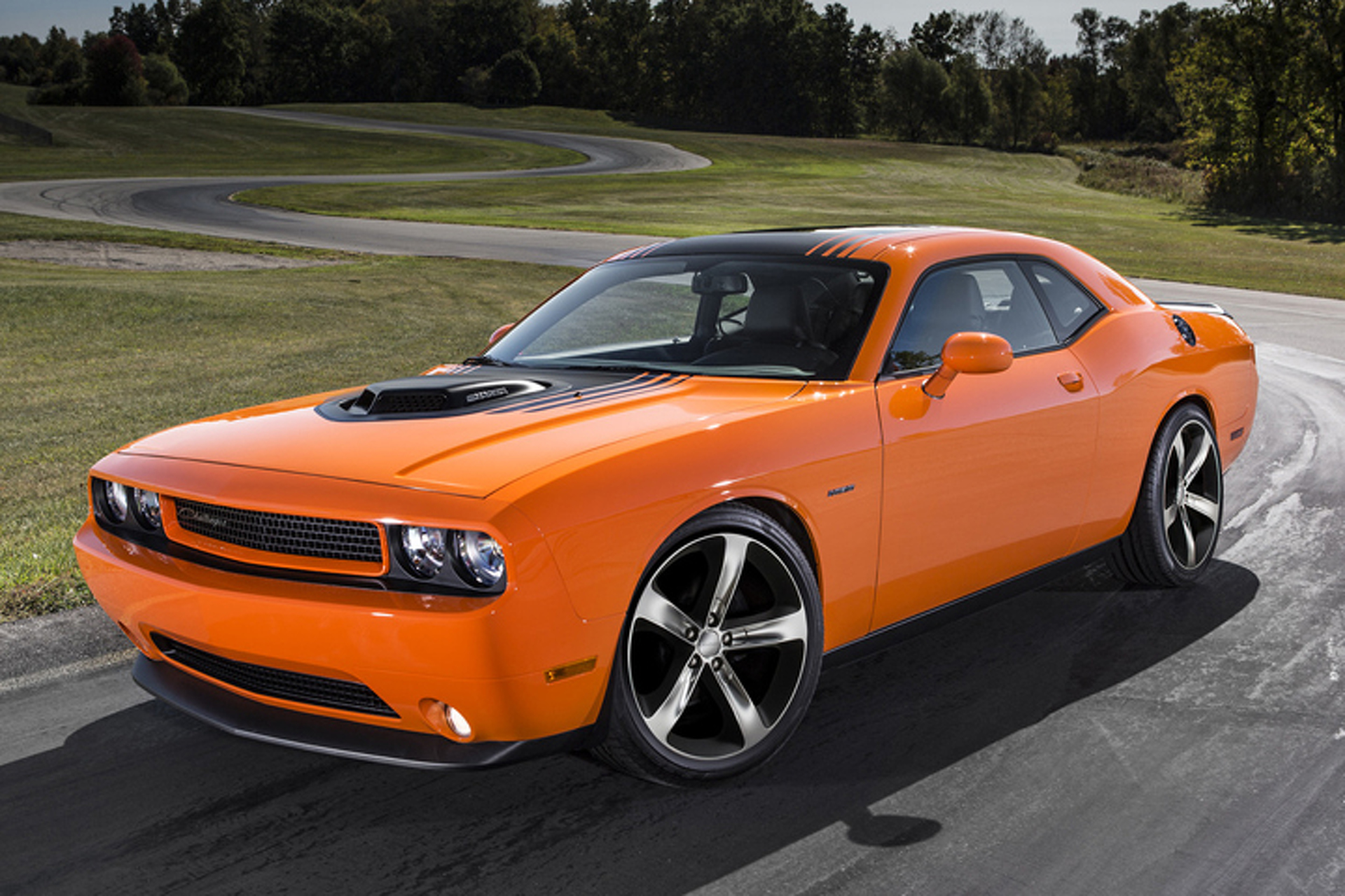Dodge Lets It All Hang Out With Mopar Challenger Shaker Hood Kit