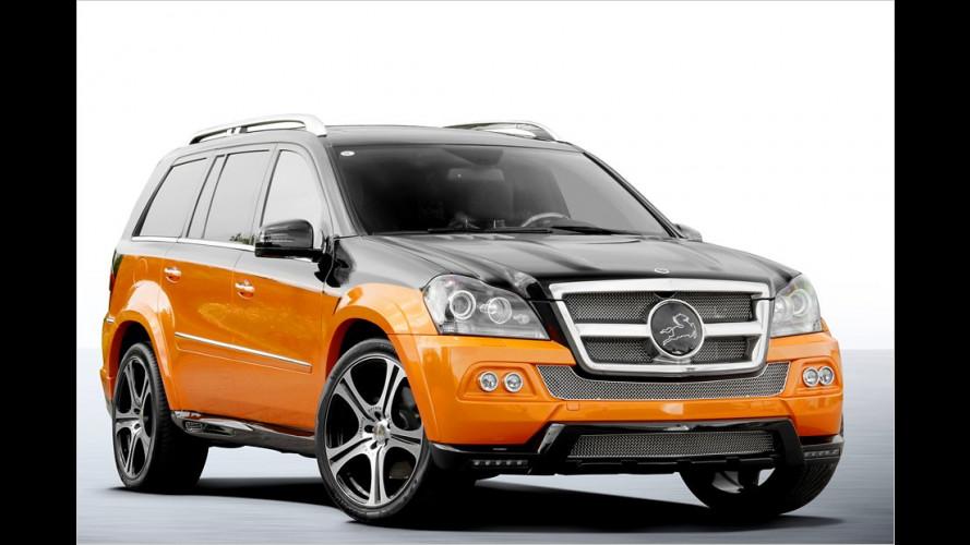 Mercedes GL im China-Look