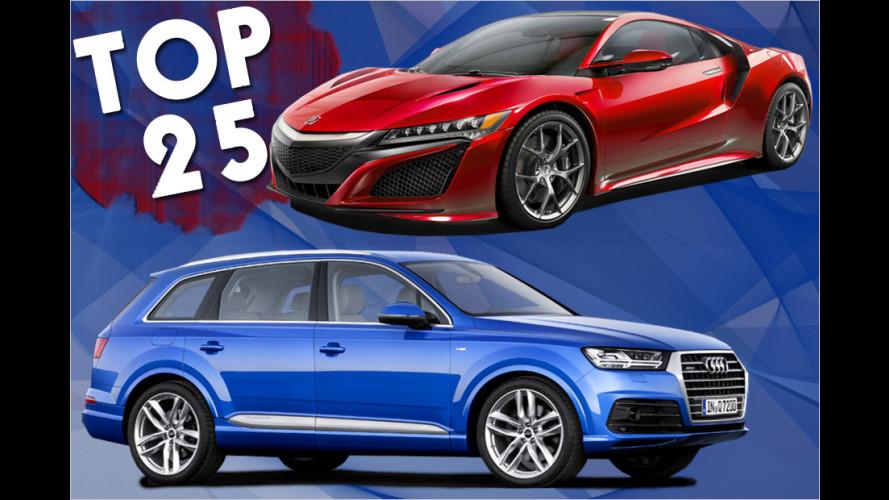 Unsere Auto-Lieblinge für 2015: Das sind die 25 Newcomer-Highlights