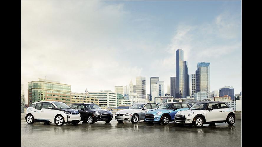 Carsharing von BMW: Mit Bringdienst und Chauffeur