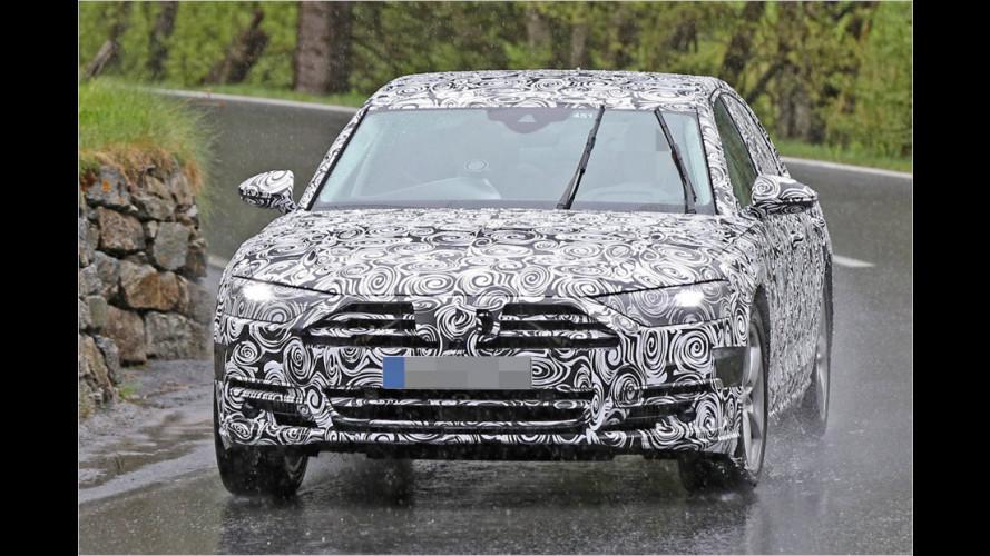 Audi A8 (2017) als Erlkönig erwischt: So wird der Neue