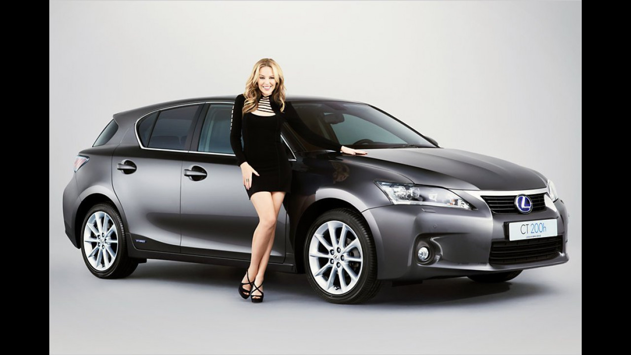 Kylie Minogue: Lexus CT 200h