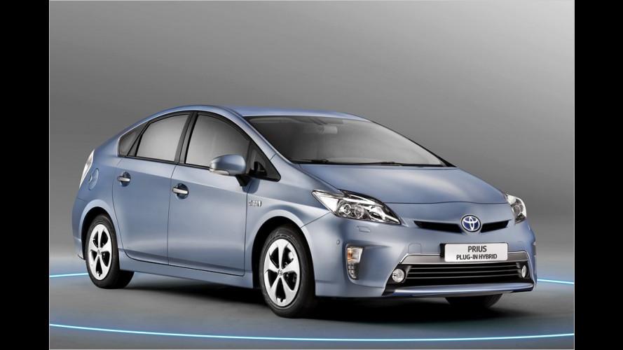 Toyota Prius Plug-in Hybrid: Auflade-Hybrid ab 36.200 Euro