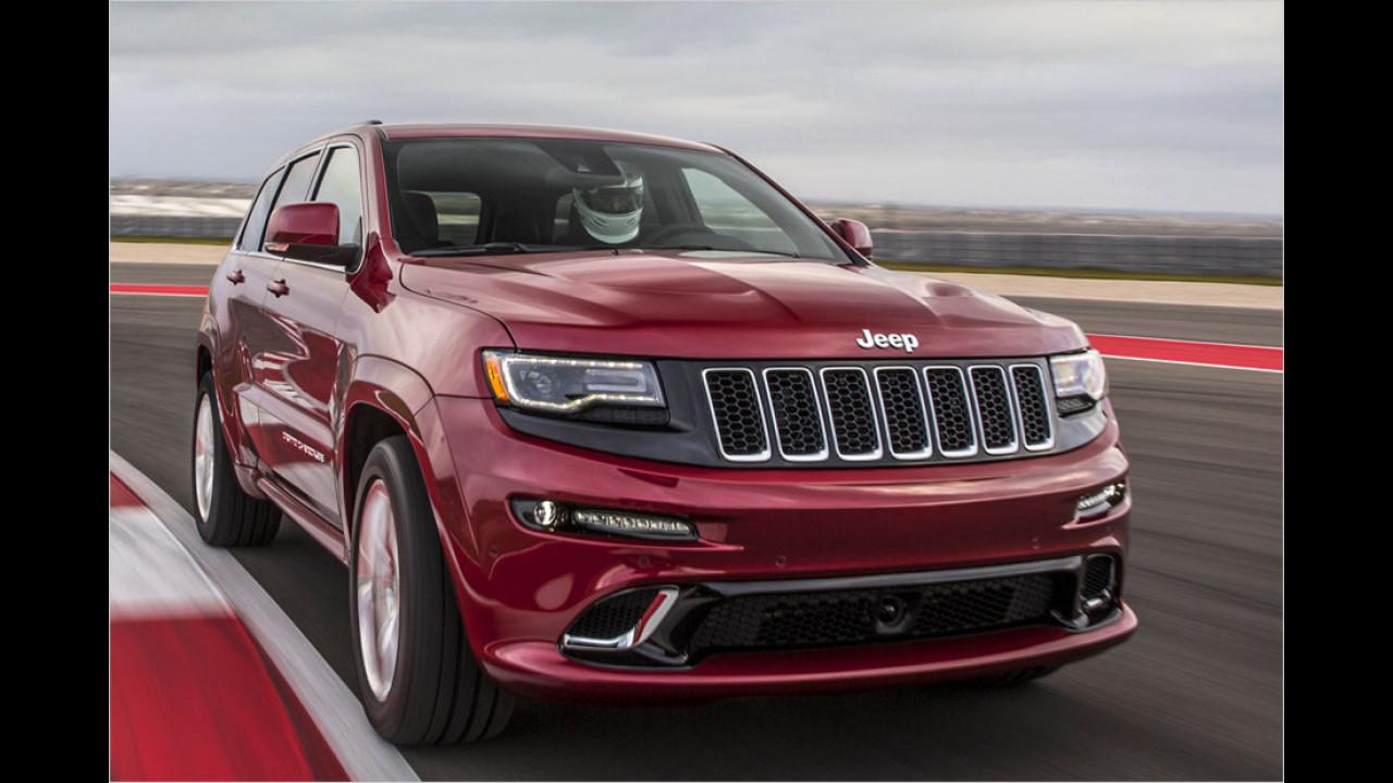 Jeep Grand Cherokee 6.4 V8 SRT: 5,0 Sekunden