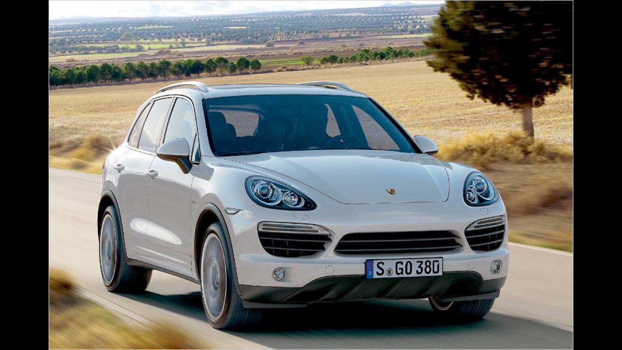 Porsche Cayenne S Hybrid Tiptronic S