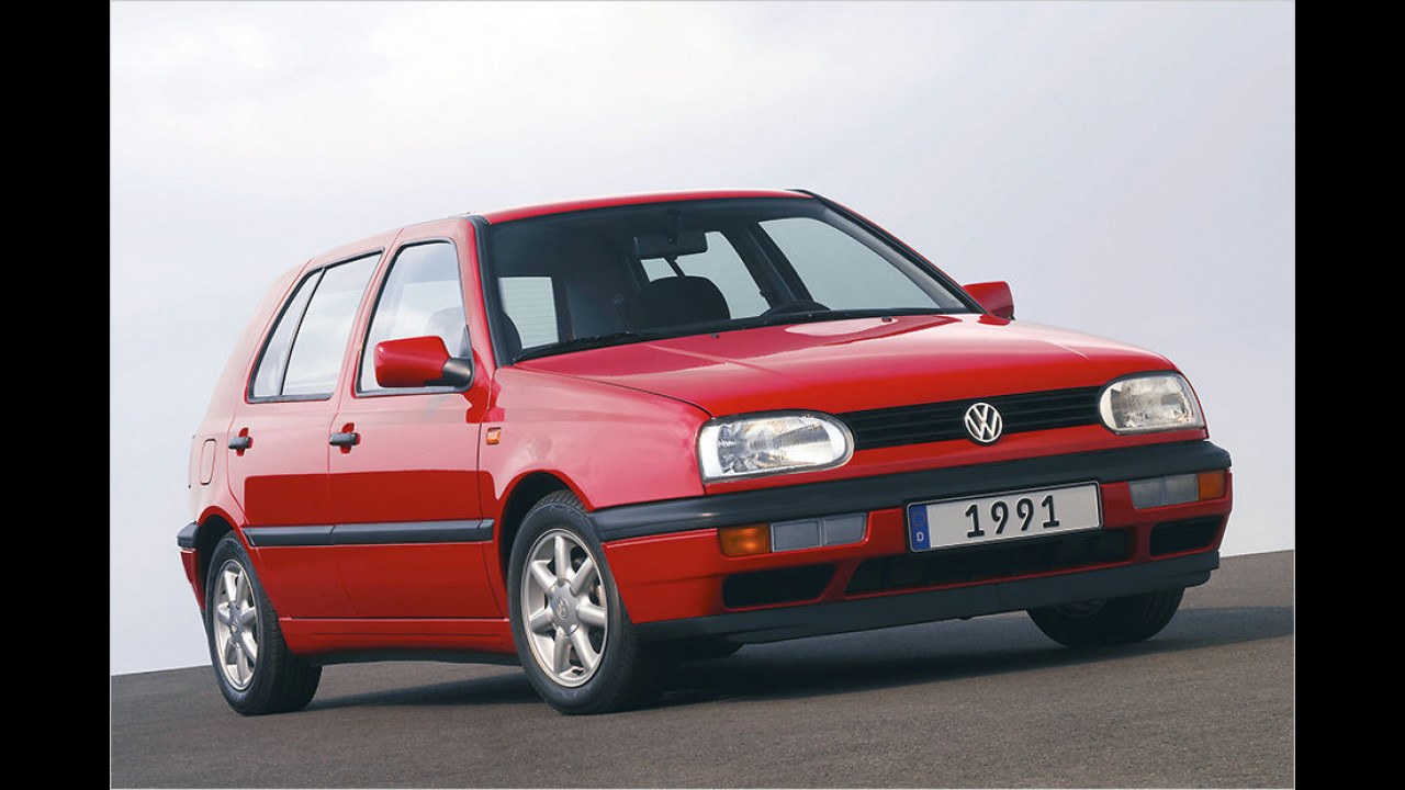 25 Jahre VW Golf III